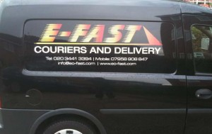 delivery van graphics